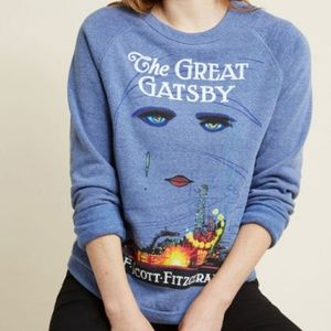 Mod Cloth Novel Tee Sweatshirt Great Gatsby